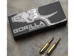 Gorilla Hunt Ammunition 260 Remington 95 Grain Lehigh Controlled Chaos Lead-Free  Box of 20