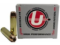 Underwood Ammunition 500 S&W Magnum 350 Grain Hornady XTP Jacketed Hollow Point Box of 20