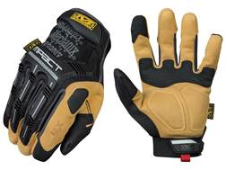 Mechanix Wear Material4X M-Pact Work Gloves Synthetic Leather Black/Tan Large