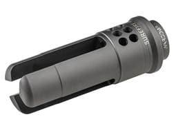 """Surefire WarComp Flash Hider Suppressor Adapter AR-15 1/2""""-28 Thread Steel Matte"""