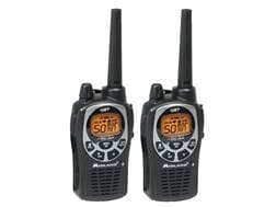 Midland GXT1000VP4 Two-Way Radio with NOAA Weather 50 Channel Black and Silver Pack of 2