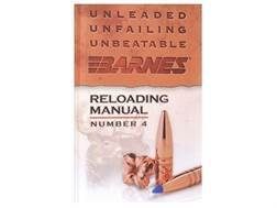 "Barnes ""Reloading Manual: Number 4"""
