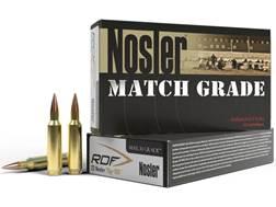 Nosler Match Grade Ammunition 22 Nosler 70 Grain RDF Hollow Point Boat Tail Box of 20
