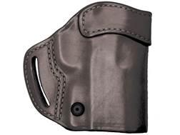 BLACKHAWK! Compact Askins Belt Holster Right Hand H&K P2000, USP Compact Leather Black