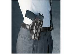 Galco Concealed Carry Paddle Holster Right Hand H&K USP Leather Black