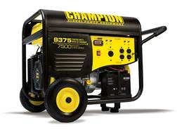 Champion 7500/9375 Watt Gas Powered Generator with Electric Start and Power Cord