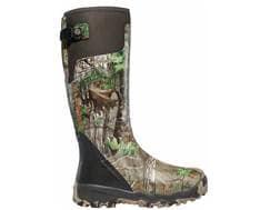 "LaCrosse Alphaburly Pro 18"" Waterproof Hunting Boots Rubber Clad Neoprene Realtree Xtra Green Men..."