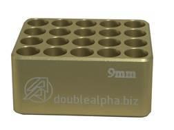 Double-Alpha Golden 20 Pocket Cartridge Gauge Anodized Aluminum
