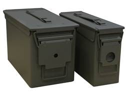 U.S. Ballistics Mil-Spec Ammo Can 2-Can Combo Pack 50 and 30 Caliber