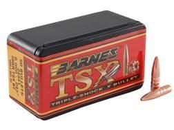 Barnes Triple-Shock X (TSX) Bullets 243 Caliber, 6mm (243 Diameter) 85 Grain Hollow Point Boat Ta...