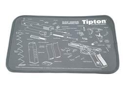 "Tipton Glock Gun Cleaning and Maintenance Mat 11"" x 17"" Gray"