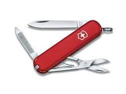 Victorinox Swiss Army Ambassador Folding Pocket Knife 7 Function Stainless Steel Blade Polymer Ha...
