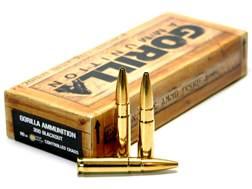 Gorilla Ammunition 300 AAC Blackout 110 Grain LeHigh Controlled Chaos Box of 20