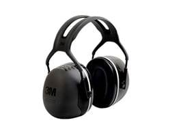 Peltor X5 Ear Defenders Earmuffs (NRR31 dB) Black