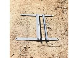 G.P.S. Target Stand Variable Size Powder Coated Steel