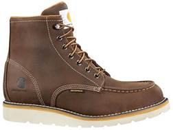 """Carhartt Wedge 6"""" Waterproof Work Boots Leather Men's"""
