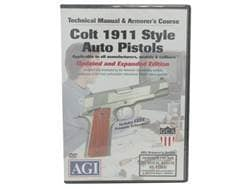 """American Gunsmithing Institute (AGI) Technical Manual & Armorer's Course Video """"Colt 1911 .45 Aut..."""
