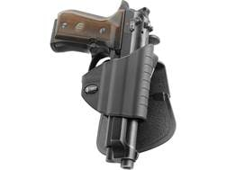 Fobus Thumb Lever Holster with Belt and Paddle Attachment Right Hand Beretta 92 Compact, 92 FS, 9...