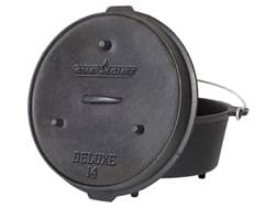 "Camp Chef 14"" Deluxe Dutch Oven Cast Iron"