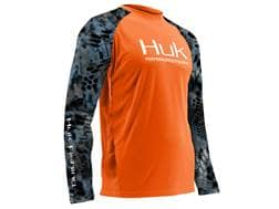 Huk Men's Performance Kryptek Vented Shirt Long Sleeve Polyester