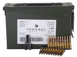 Federal Ammunition 5.56x45mm NATO 62 Grain XM855 SS109 Penetrator Full Metal Jacket 10 Round Clip...