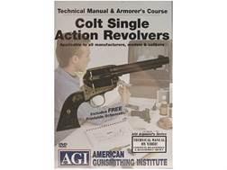 "American Gunsmithing Institute (AGI) Technical Manual & Armorer's Course Video ""Colt Single Actio..."