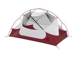 """MSR Hubba Hubba NX 2 Man Modified Dome Tent 84"""" x 50"""" x 39"""" Polyester Red and White"""
