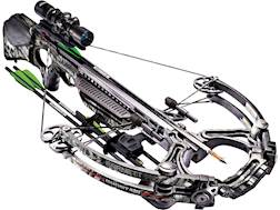 Barnett Ghost 420 Crossbow Package with 1.5-5x32 Illuminated Scope Mossy Oak Treestand Monochrome...