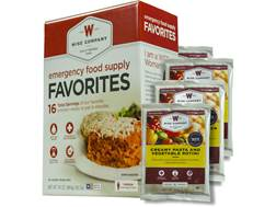 Wise Company Emergency Food Supply Favorites Freeze Dried Food Kit