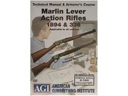 """American Gunsmithing Institute (AGI) Technical Manual & Armorer's Course Video """"Marlin Lever Acti..."""
