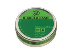 RWS Diabolo Air Gun Pellets 177 Caliber 7.0 Grain Flat Nose Tin of 300