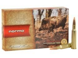 Norma USA TipStrike Ammunition 7x57mm Rimmed 160 Grain Polymer Tip Flat Base Box of 20