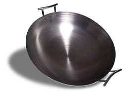 "Eastman Outdoors 18"" Wok Carbon Steel"