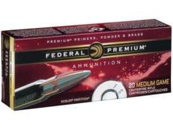 Federal Premium Vital-Shok Ammunition 7mm Remington Magnum 150 Grain Nosler Ballistic Tip
