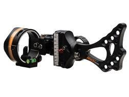 Apex Gear Covert 1-Pin Slider Bow Sight with Interchangeable Pin Technology Black