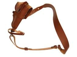 "Hunter 68-400 3 in 1 Bandolier Holster Right Hand Ruger Alaskan 2-1/2"" Barrel Leather Brown"