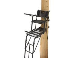 Rivers Edge SYCT Lockdown Tall Single Ladder Treestand Steel Gray