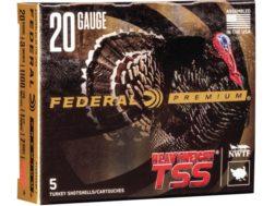 """Federal Premium Heavyweight TSS Turkey Ammunition 20 Gauge 3"""" 1-1/2 oz #7 Non-Toxic Tungsten Supe..."""