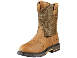 """Ariat Workhog 11"""" WST Waterproof Composite Safety Toe Work Boots Leather Men's"""