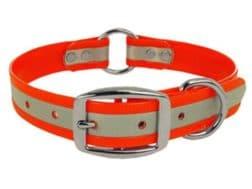 """K-9 Komfort 1"""" Dog Collar  Reflective"""