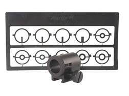 Williams Target Globe Front Sight with 10 Inserts Less Attaching Base Aluminum Black