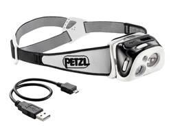 Petzl Reactik Reactive Lighting Headlamp LED with Rechargeable Li-Ion Battery Polymer Black