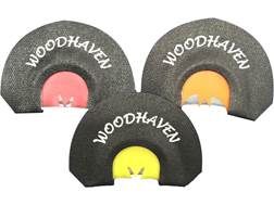 Woodhaven Black Death Diaphragm Turkey Call Pack of 3