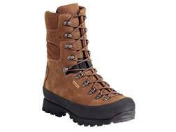 "Kenetrek Mountain Extremes 10"" Waterproof Hunting Boots Leather and Nylon Brown Men's"