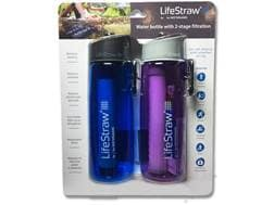 LifeStraw Go Water Filtration Bottle Pack of 2
