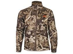 First Lite Men's North Branch Soft Shell Jacket Synthetic Blend Cipher Camo 2XL