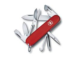Victorinox Swiss Army Super Tinker Folding Pocket Knife 14 Function Stainless Steel Blade Polymer...
