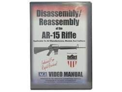 """American Gunsmithing Institute (AGI) Disassembly and Reassembly Course Video """"AR-15 Rifles"""" DVD"""