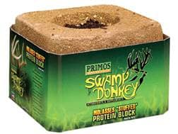 Primos Swamp Donkey Molasses Stuffed Protein Deer Attractant 15 lb Block