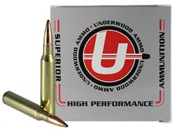 Underwood Match Grade Ammunition 338 Lapua Magnum 300 Grain Hollow Point Boat Tail Box of 10